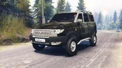 УАЗ-3163 Патриот турбодизель v3.0