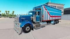 Кузов фургонного типа для Kenworth W900 для American Truck Simulator