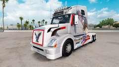 Скин USA Eagle на тягач Volvo VNL 670