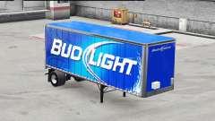 Скин Bud Light на цельнометаллический полуприцеп