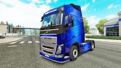 Скин Fantastic Blue на тягач Volvo