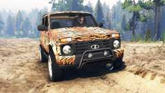 ВАЗ-21214 (Lada 4x4 Urban) тигр