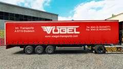 Скин Vogel на шторный полуприцеп