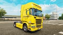 Скин Correios на тягач Scania Streamline