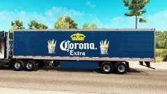 Скин Corona Extra на рефрижераторный полуприцеп