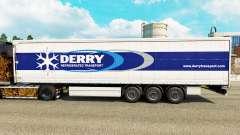 Скин Derry на шторный полуприцеп