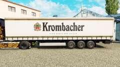 Скин Krombacher на шторный полуприцеп