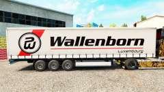 Скин Wallenborn на шторный полуприцеп