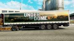 Скин Under the Dome на шторный полуприцеп