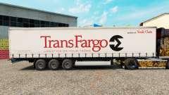 Скин Trans Fargo на шторный полуприцеп