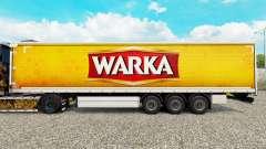 Скин Warka шторный полуприцеп