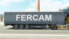 Скин Fercam на шторный полуприцеп