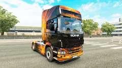 Скин Cubical Flare на тягач Scania