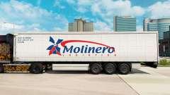 Скин Molinero Logistica на шторный полуприцеп