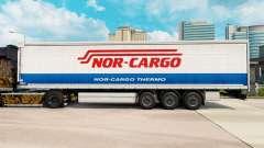 Скин Nor-Cargo Thermo на шторный полуприцеп