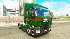 Скин Sada Transportes на тягач Iveco