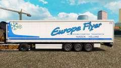 Скин Europe Flyer на шторный полуприцеп