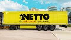 Скин Netto на шторный полуприцеп