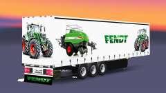 Шторный полуприцеп Schmitz Cargobull Fendt v2.0