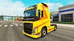 Скин Yellow на тягач Volvo