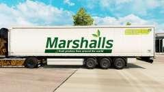 Скин Marshalls на шторный полуприцеп