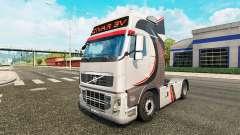 Скин Givar BV на тягач Volvo для Euro Truck Simulator 2