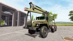 Урал-4320 лесовоз