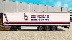 Скин Brinkman на шторный полуприцеп для Euro Truck Simulator 2