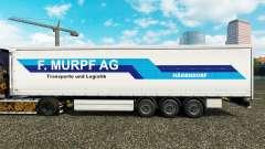 Скин F. Murpf AG на шторный полуприцеп