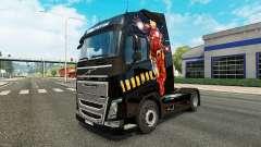 Скин Iron Man на тягач Volvo