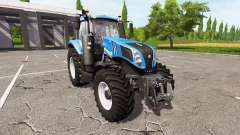 New Holland T8.380 v1.1 для Farming Simulator 2017