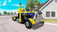 Скин Long Road Transport на тягач Peterbilt 351