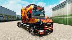 Скин Dragon на тягач Scania T