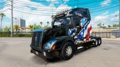 Скин American Flag на тягач Volvo VNL 670