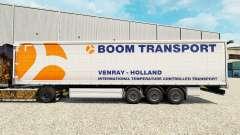 Скин Boom Transport на шторный полуприцеп
