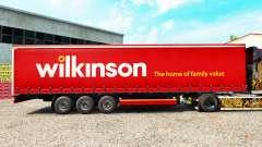 Скин Wilkinson на шторный полуприцеп