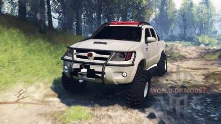 Toyota Hilux 2013 v3.0 для Spin Tires