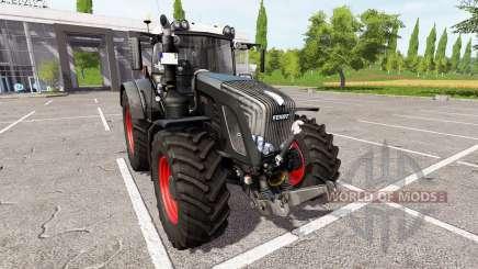 Fendt 936 Vario black beauty v1.1.1 для Farming Simulator 2017