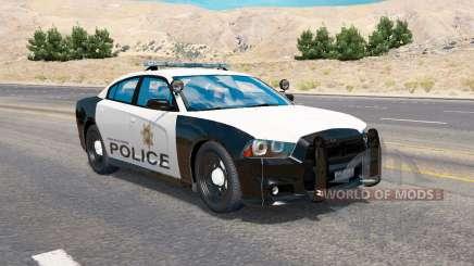 Dodge Charger Police для трафика для American Truck Simulator