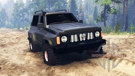 Nissan Patrol GR (Y60) для Spin Tires