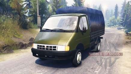 ГАЗ-3302 Газель для Spin Tires