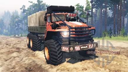 Урал-4320 Полярник v14.0 для Spin Tires