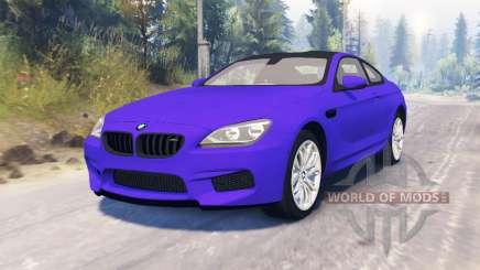 BMW M6 (F13) для Spin Tires