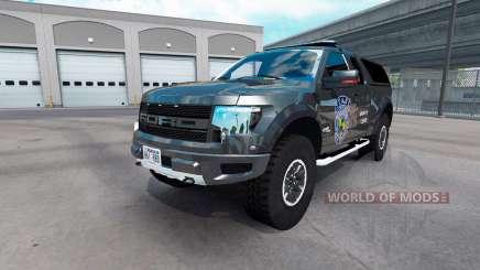 Ford F-150 SVT Raptor v2.1 для American Truck Simulator