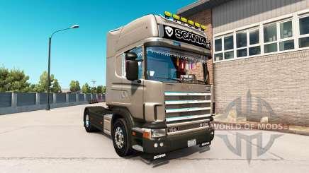 Scania 164L 580 Topline для American Truck Simulator