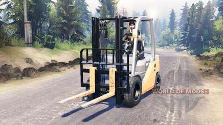 Toyota Forklift для Spin Tires
