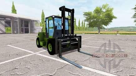Clark C80D для Farming Simulator 2017
