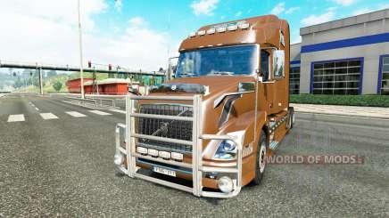 Volvo VNL 780 v2.0 для Euro Truck Simulator 2
