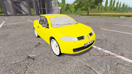 Renault Megane CC для Farming Simulator 2017
