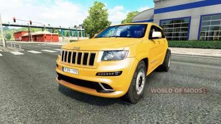 Jeep Grand Cherokee SRT8 v1.1 для Euro Truck Simulator 2